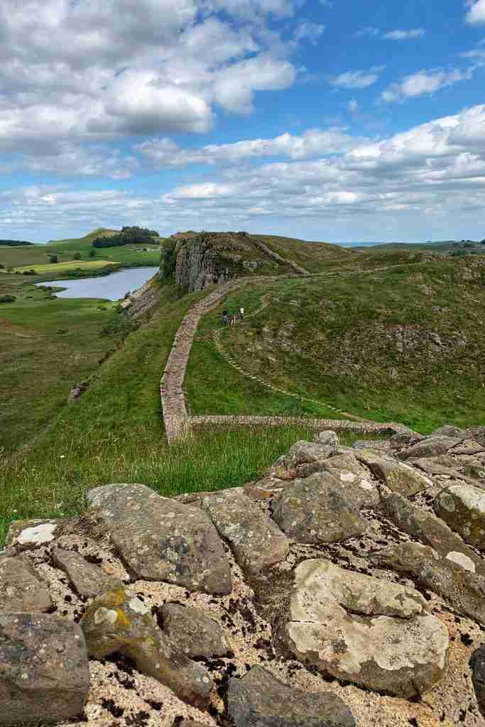 Hadrian's wall walk in England solo travel
