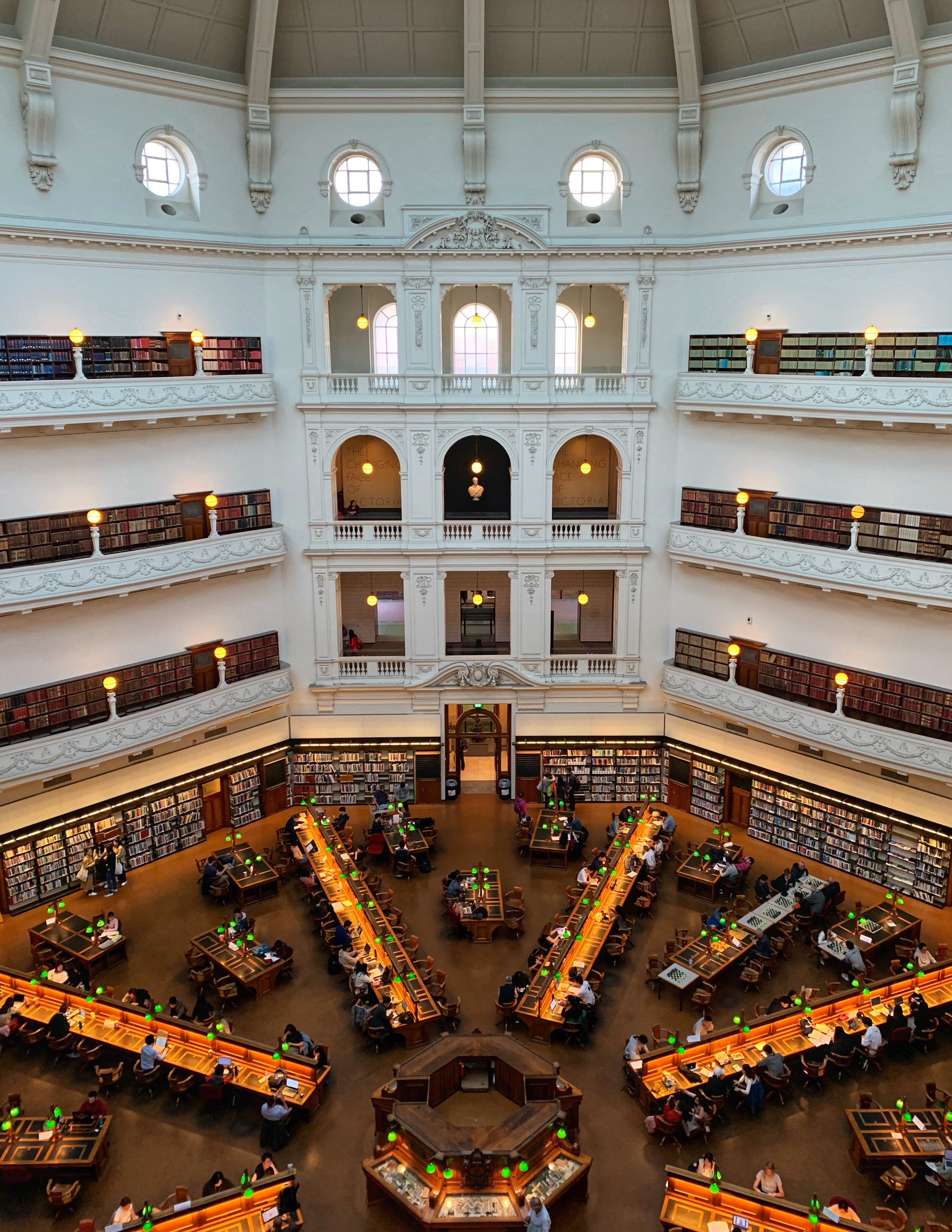 State Library Victory in Melbourne Australia solo female travel blog