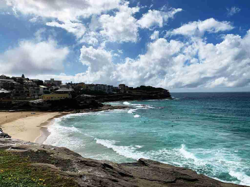 Coogee Beach in NSW Australia