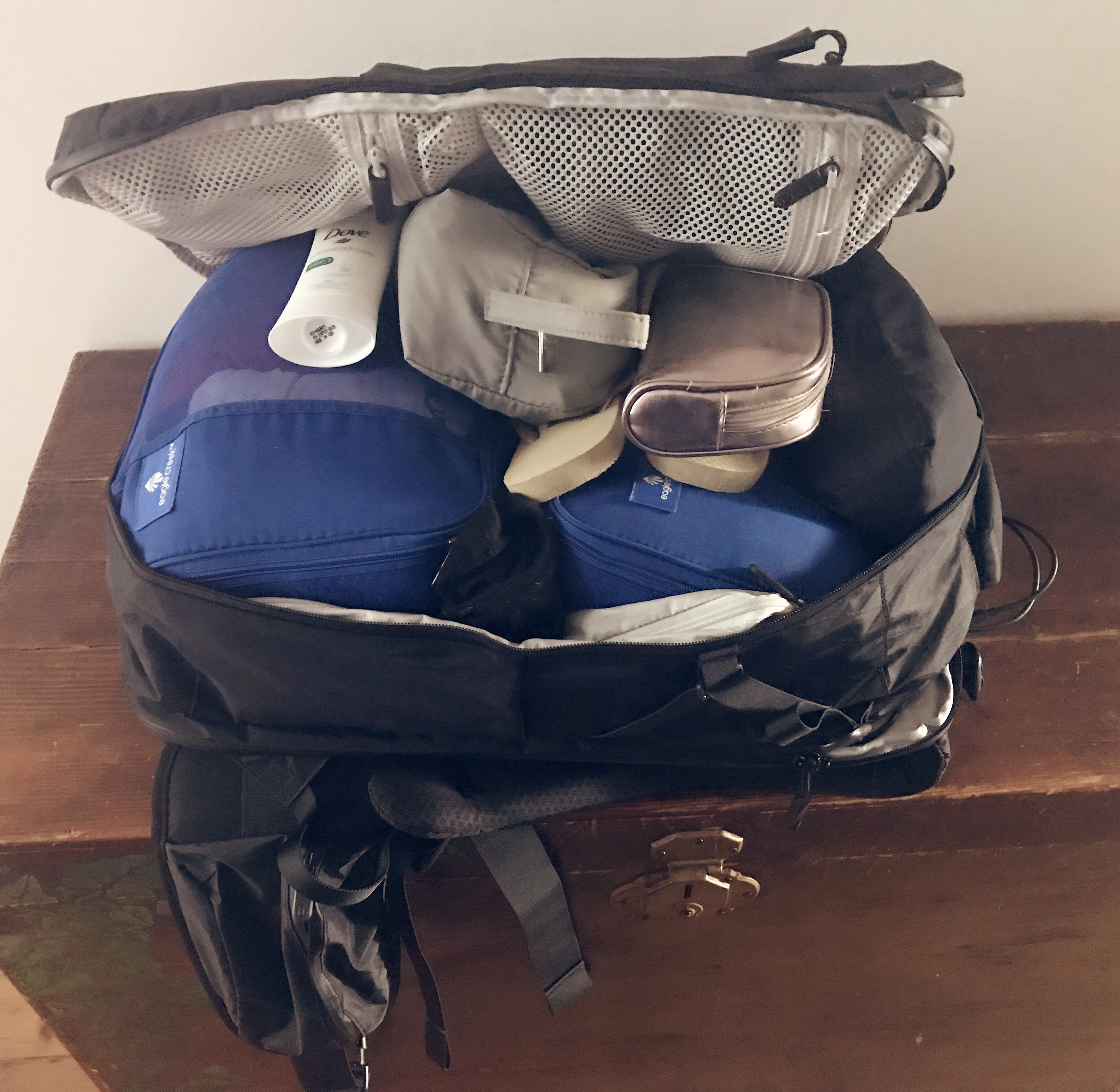 Packing for a long trip