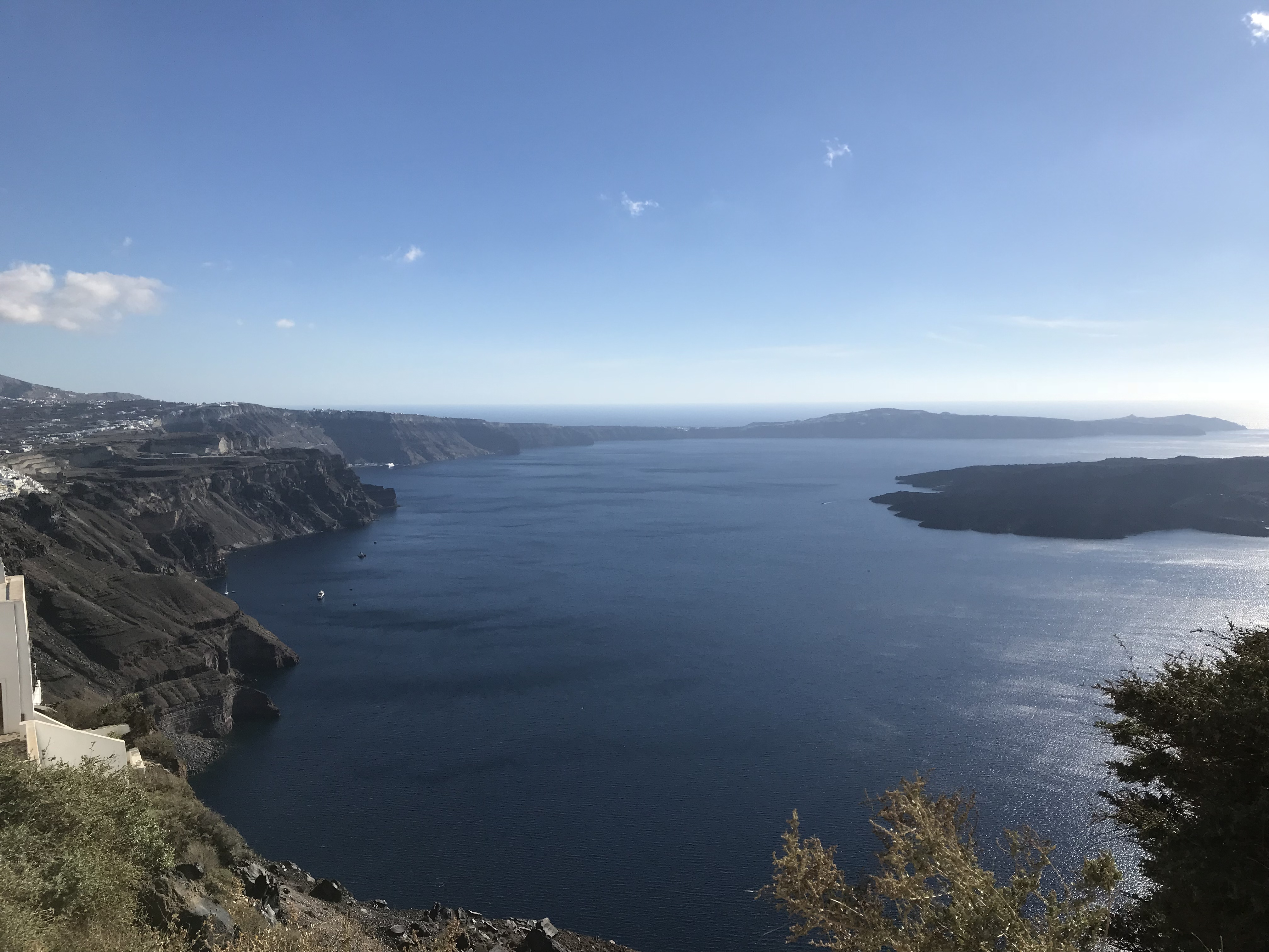 History of Santorini Greece