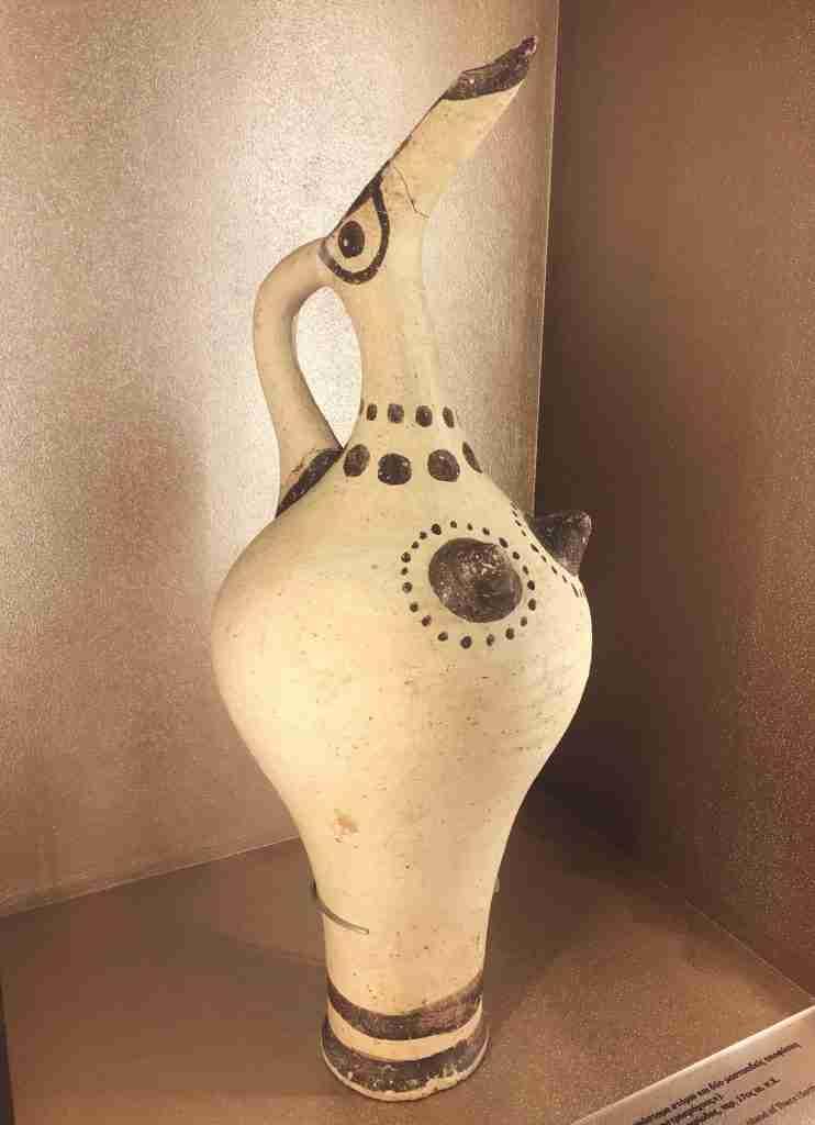 Ancient Minoan nipple jar