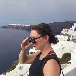 The Art of Self-Romance in Santorini