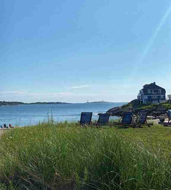 Long Beach in Gloucester Massachusetts in the summer