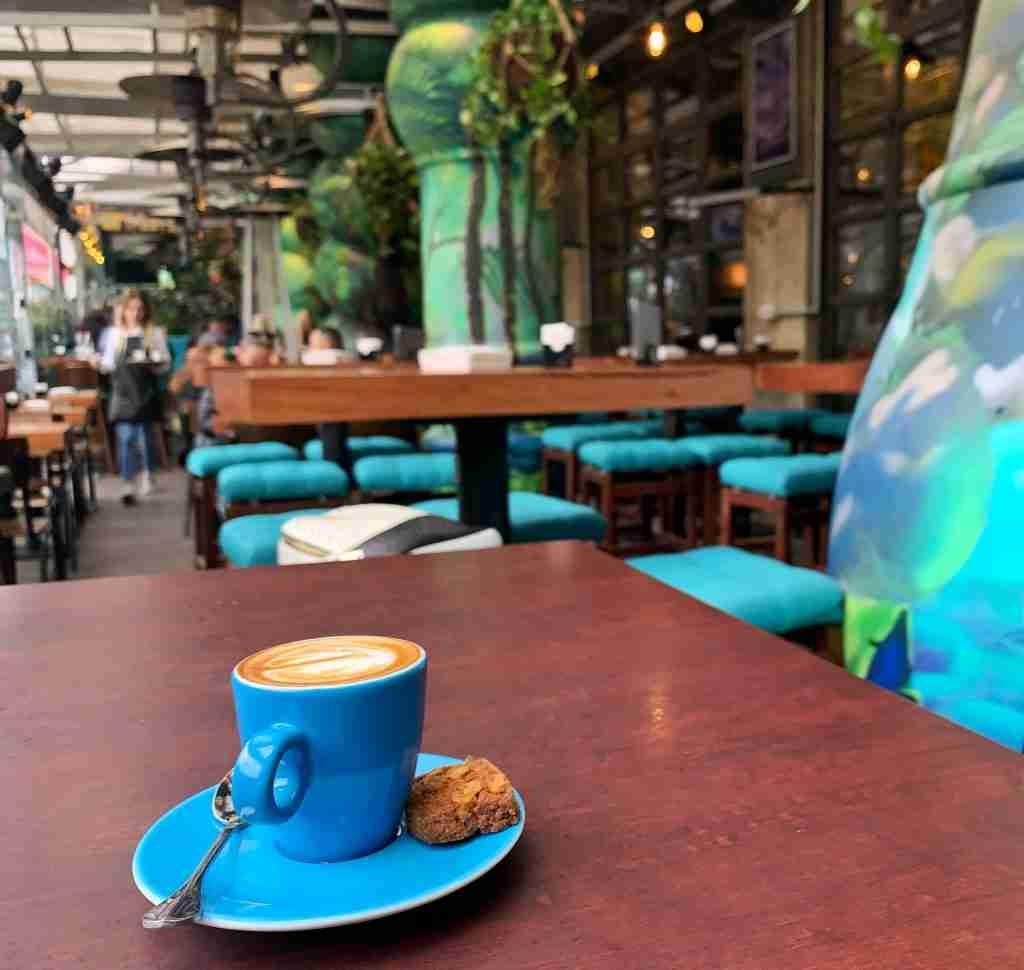 cafe in Tirana Albania