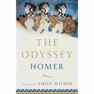 Cover of The Odyssey by Homer translated by Emily Wilson books about Ancient Greece