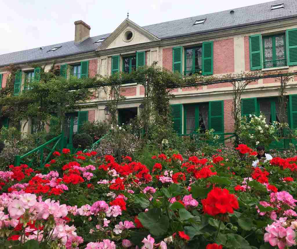 Claude Monet's house in Giverny France